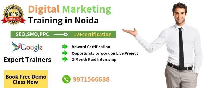 Advance digital marketing course in Noida